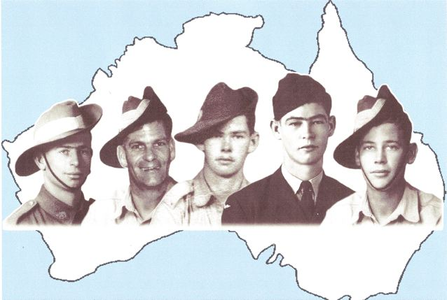 Five Franklin Brothers who served during World War 2