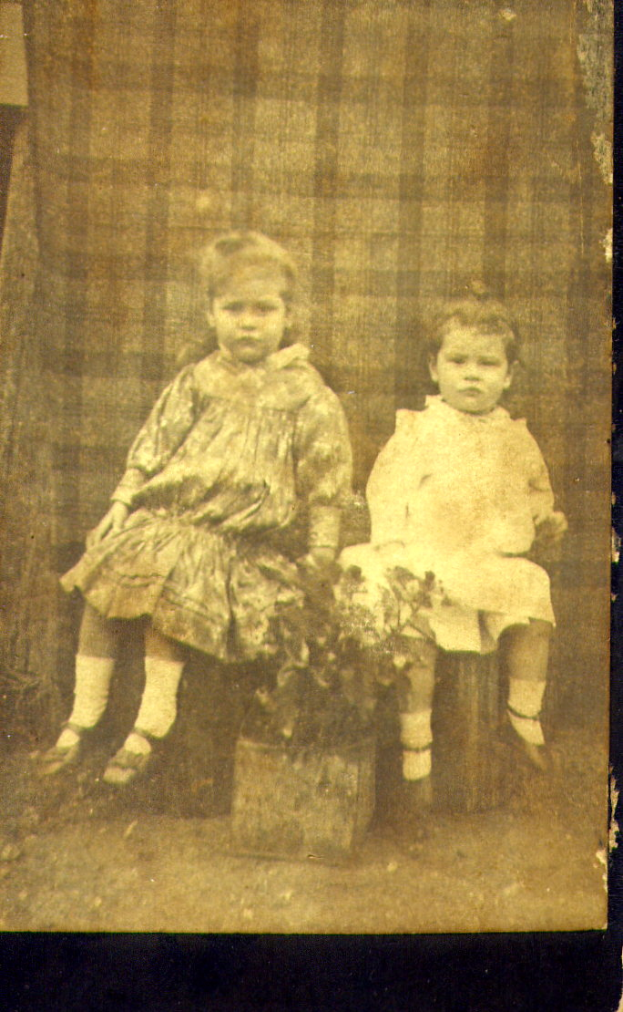 Alfred John Franklin and Maria Franklin - son and daughter of John Franklin and Bridget Boyce